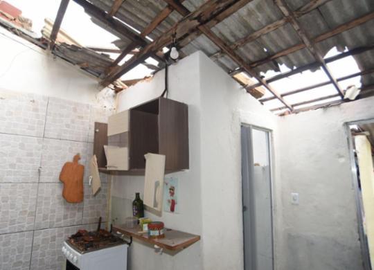 Famílias prejudicadas por vendaval receberão auxílio da prefeitura de Salvador | Divulgação | Secom