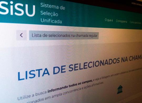 MEC libera acesso ao resultado do Sisu | Agência Brasil