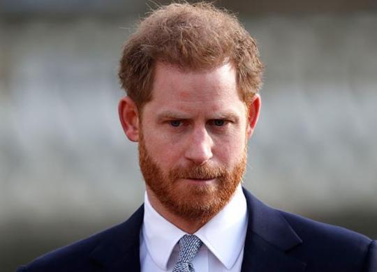 """""""Me traz grande tristeza que tenha chegado a isto"""", diz príncipe Harry sobre afastamento   Adrian Dennis   AFP"""