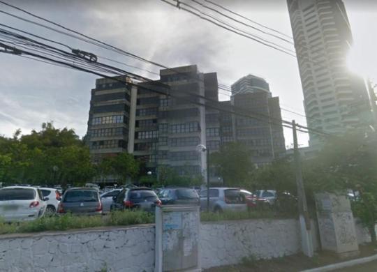Prédio da Suprev é evacuado após suspeita de princípio de incêndio | Reprodução | Google Maps