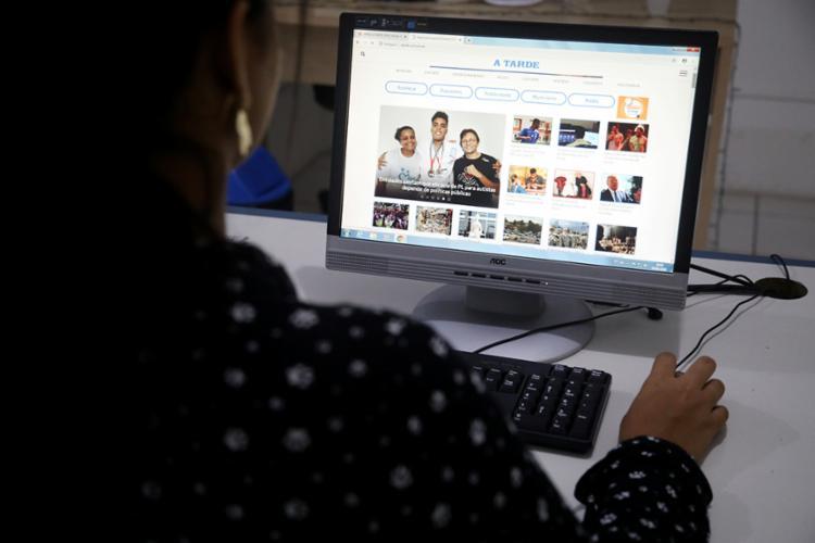 Em dezembro de 2019, página registrou mais de 9 milhões de acessos | Foto: Felipe Iruatã | Ag. A TARDE - Foto: Felipe Iruatã | Ag. A TARDE