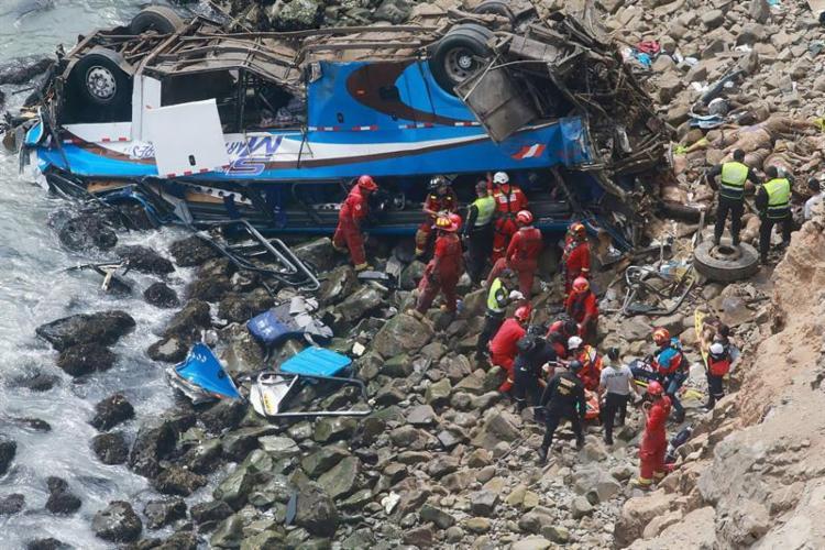 Segundo sites jornalísticos peruanos, entre os mortos estão dois brasileiros e dois alemães. - Foto: Agência Brasil