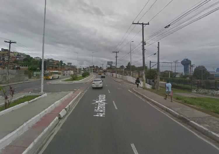 Acidente ocorreu na madrugada desta segunda-feira, 13   Foto: Reprodução   Google Street View - Foto: Google Street View