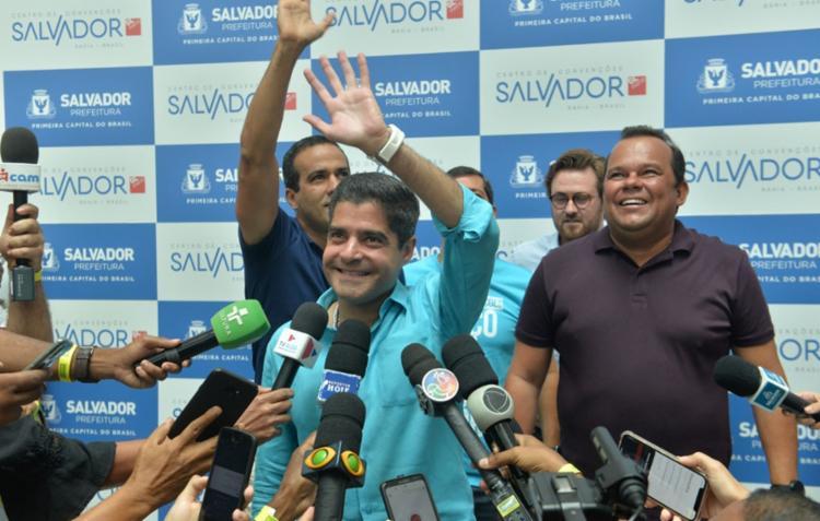 De acordo com o prefeito de Salvador, cerca de R$ 130 milhões em recursos próprios foram investidos na construção   Foto: Divulgação   Secom - Foto: Divulgação   Secom