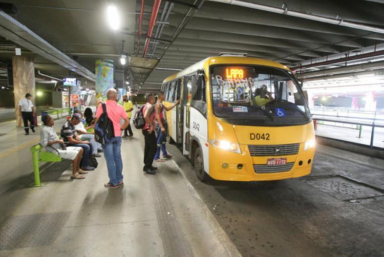 A integração dos 'Amarelinhos' era a única que faltava ser concluída na capital baiana | Foto: Luciano da Matta | Ag. A TARDE - Foto: Luciano da Matta | Ag. A TARDE