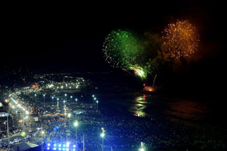 Dia da Confraternização Universal, nesta quarta, 1º, é uma das exceções dos feriados colados com o fim de semana - Foto: Valter Pontes | Secom