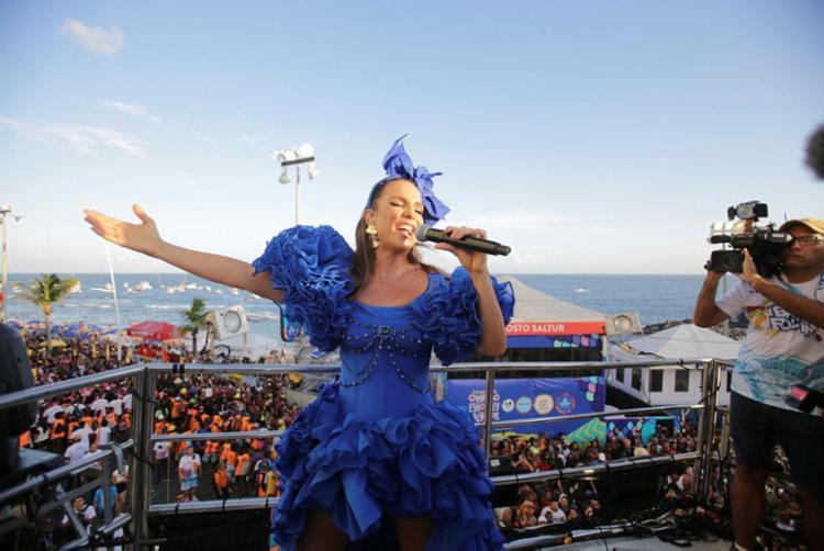 Ivete Sangalo é atração confirmada no dia 20 de junho no Rock in Rio Lisboa | Foto: Joá Souza | Ag. A TARDE - Foto: Joá Souza | Ag. A TARDE