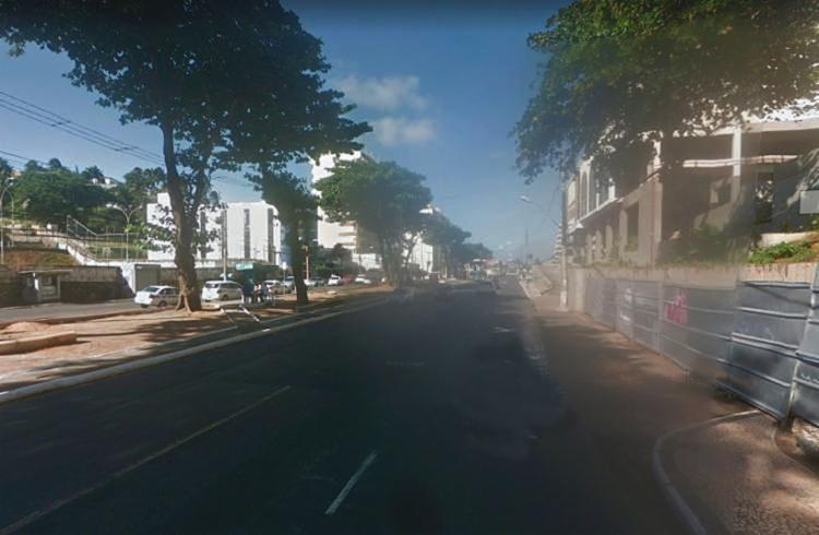Acidente aconteceu na avenida Oceânica   Foto: Reprodução   Google Maps - Foto: Reprodução   Google Maps