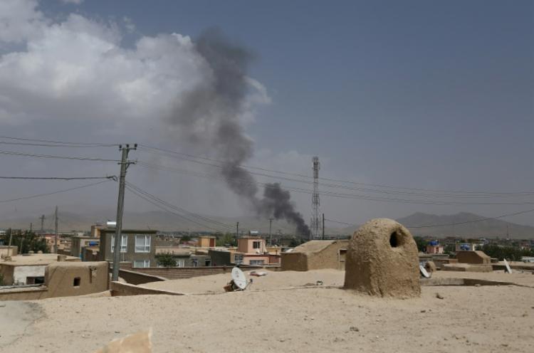 Avião caiu na província de Ghazni, na região central do país | Foto: AFP - Foto: AFP