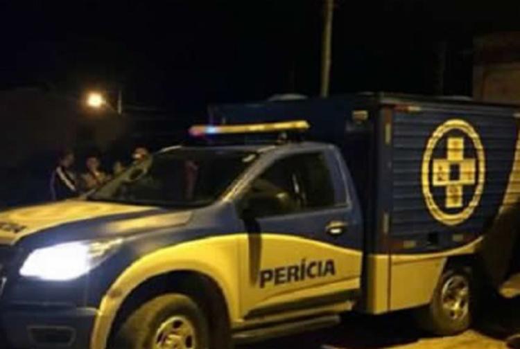 Polícia fez a perícia no local e removeu o corpo | Foto: Reprodução | Giro em Ipiaú - Foto: Reprodução | Giro em Ipiaú