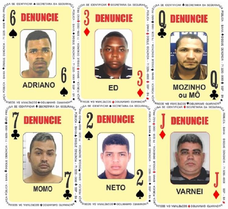 Os seis novos suspeitos costumam atuar em sete município do estado | Foto: Divulgação | SSP - Foto: Divulgação | SSP
