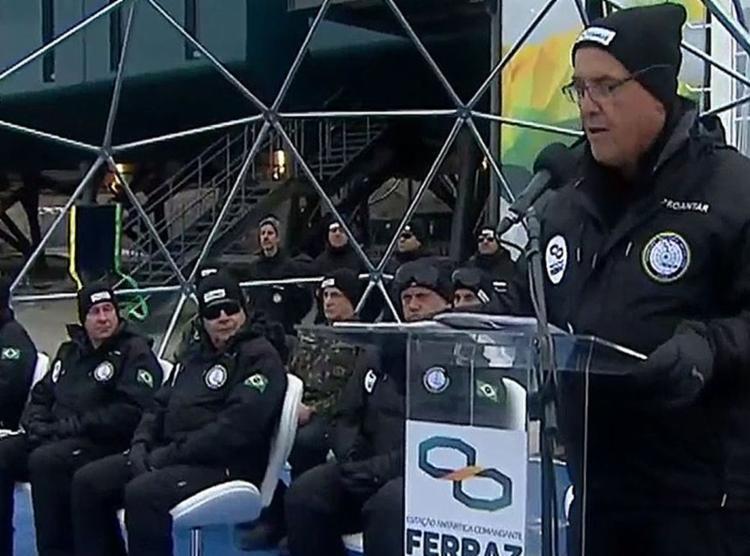Pesquisas começaram com lançamento de balão meteorológico   Foto: Reprodução   TV Brasil - Foto: Reprodução   TV Brasil