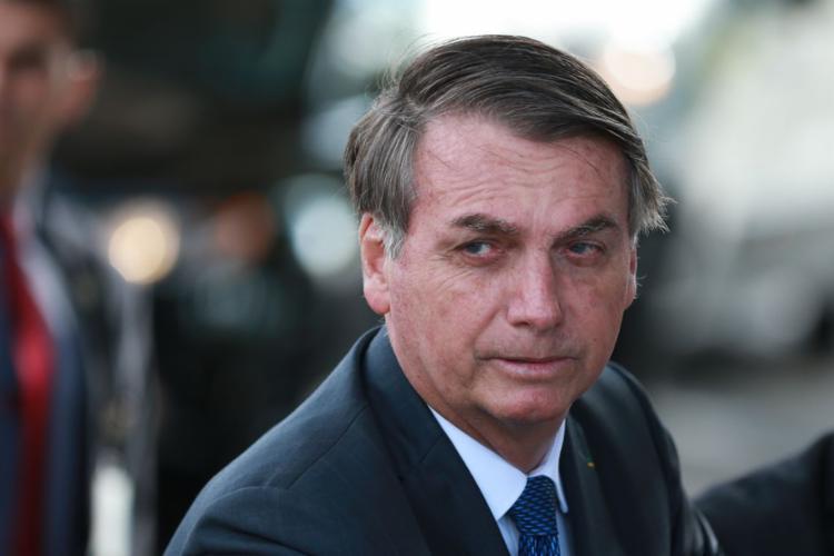 Bolsonaro foi enfático ao dizer que quem fala sobre a questão, pelo governo, é ele - Foto: Reprodução | Agência Brasil