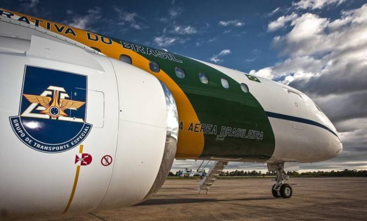 Santini usou avião da FAB para ir de Davos, na Suíça | Foto: Johnson Barros | Força Aérea Brasileira - Foto: Johnson Barros | Força Aérea Brasileira