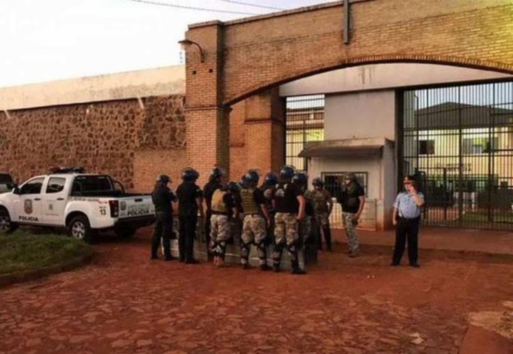 Presos escaparam da Penitenciária Pedro Juan Caballero | Foto: Reprodução | Twitter| - Foto: Reprodução | Twitter|