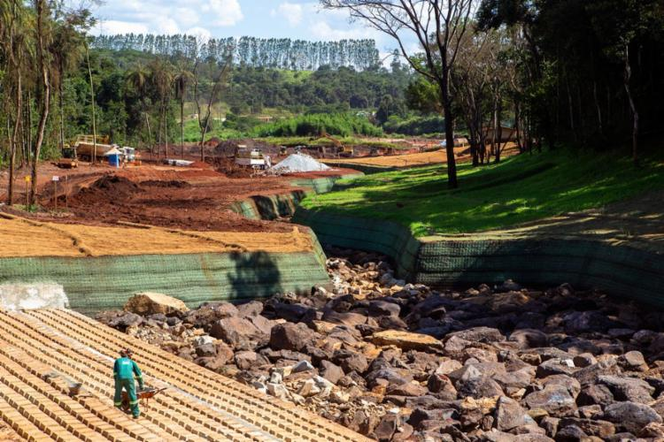Estragos provocados pela lama não serão reparados em curto prazo   Foto: Divulgação Vale   Direitos Reservados - Foto: Divulgação Vale   Direitos Reservados