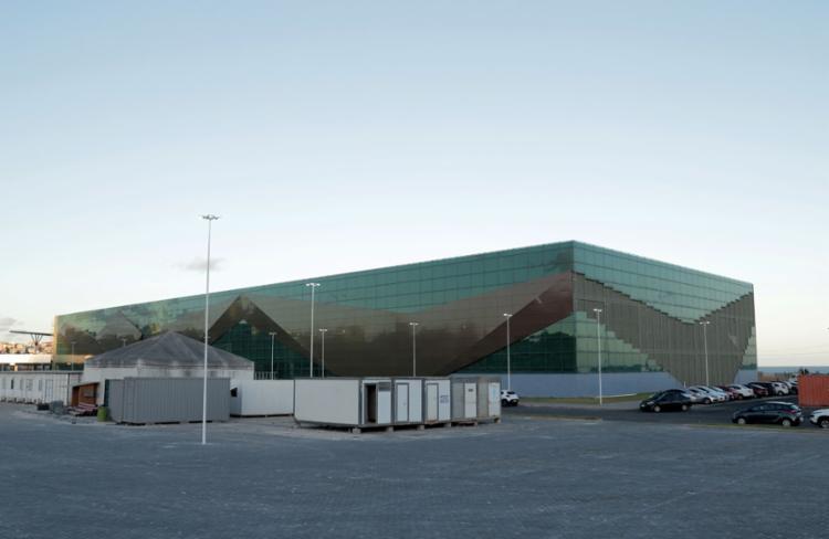 Centro de Convenções de Salvador, construído no bairro da Boca do Rio | Foto: Uendel Galter | Ag. A TARDE - Foto: Centro de Convenções de Salvador
