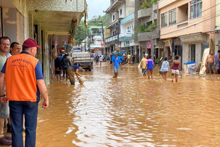 Sete pessoas morreram por causa das enchentes no estado | Foto: Divulgação | Ascom Governo ES - Foto: Divulgação | Ascom Governo ES