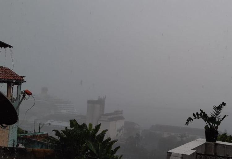 Previsão levou em consideração a influência de um ciclone | Foto: Paulo Passos | Cidadão Repórter - Foto: Paulo Passos | Cidadão Repórter