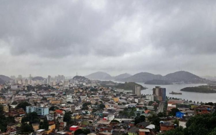 Chucas atingem o Espírito Santo desde a última sexta-feira | Foto: Divulgação | Clima Tempo - Foto: Divulgação | Clima Tempo