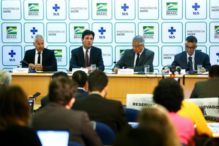 O Ministério da Saúde ainda informou que pretende divulgar diariamente das suspeitas no país   Foto: Marcelo Camargo   AG. Brasil - Foto: Marcelo Camargo   AG. Brasil