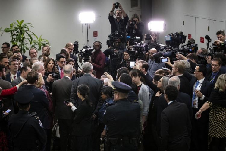 A medida ainda precisa ser aprovada no Senado, onde o partido de Trump tem maioria | Foto: Drew Anger | AFP - Foto: Drew Anger | AFP
