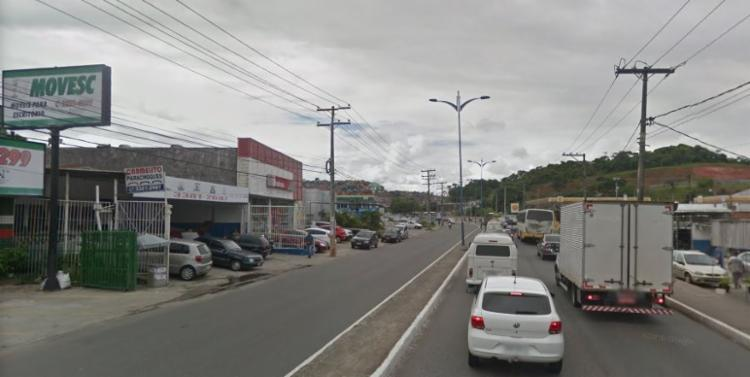 Caso aconteceu na manhã desta quarta-feira | Reprodução | Google Street View - Foto: Reprodução | Google Street View