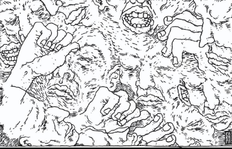 Ilustração para a crônica de Franklin Carvalho - Foto: Tulio Carapia