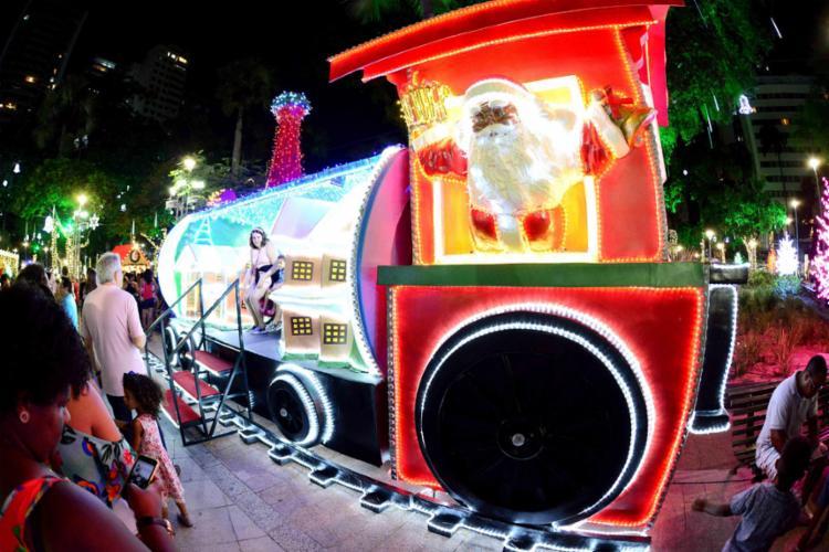 A decoração natalina tem despertado a atenção de soteropolitanos e turistas | Foto: Valter Pontes | Secom - Foto: Valter Pontes | Secom