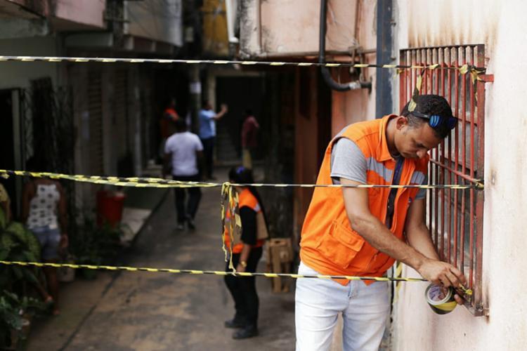 Isolamento visa garantir segurança da população | Foto: Raul Spinassé | Ag A TARDE - Foto: Raul Spinassé | Ag A TARDE