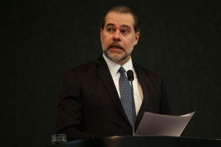 """Dias Toffoli, ministro do Supremo Tribunal Federal: """"Se criou a ideia de que aumenta o custo, não é o caso"""