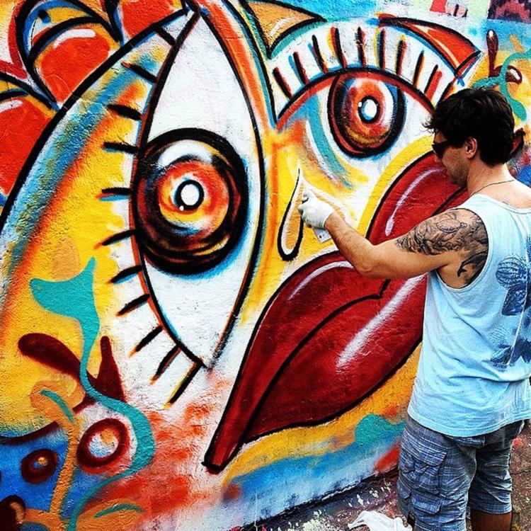 Diogo Galvão será o responsável pelas pinturas   Foto: Reprodução   Instagram