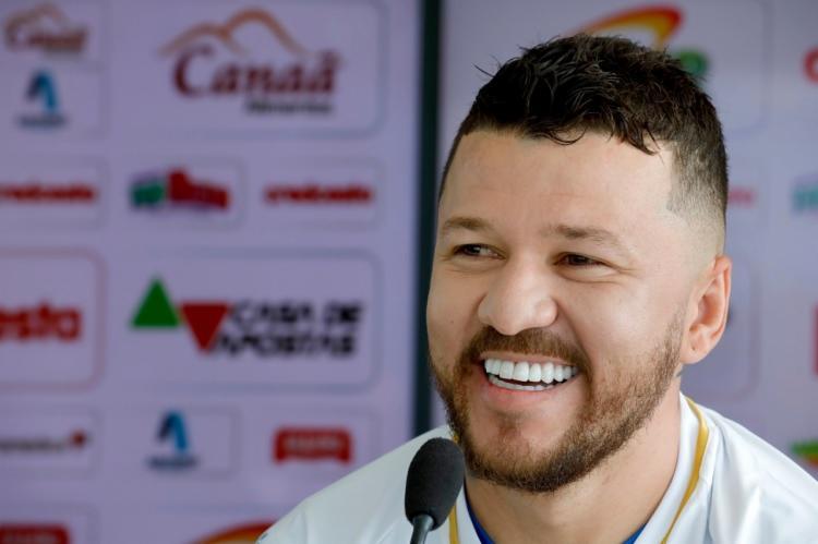 Atacante de 26 anos assinou com o Tricolor até o fim de 2021 | Felipe Oliveira | EC Bahia - Foto: Felipe Oliveira | EC Bahia