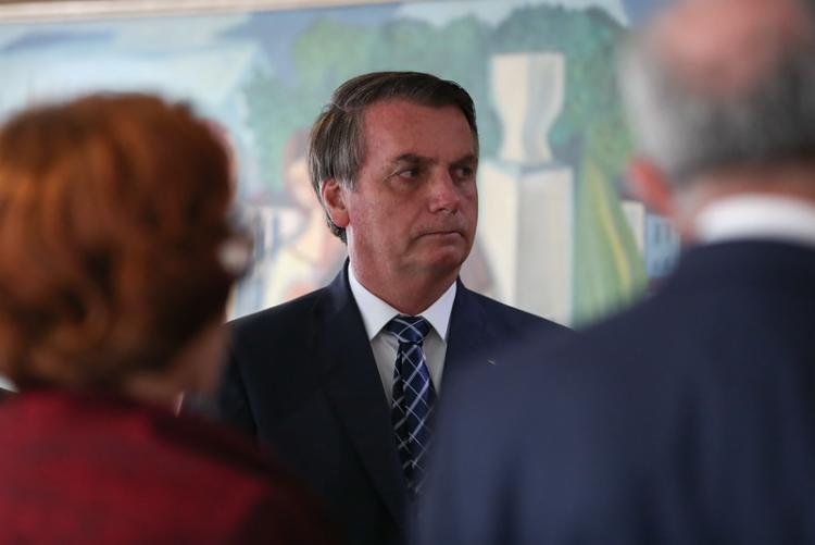 Presidente conversou com jornalistas na manhã desta sexta-feira ao sair do Palácio do Planalto | Foto: Marcos Corrêa | PR - Foto: Marcos Corrêa | PR