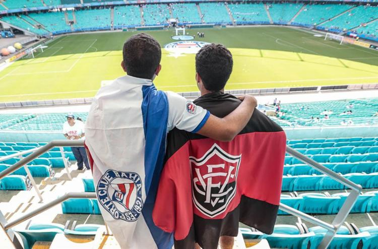 Torcidas de Bahia e Vitória esperam um bom trabalho dos times este ano   Foto: Lucas Melo   Ag. BAPRESS - Foto: Lucas Melo   Ag: BAPRESS