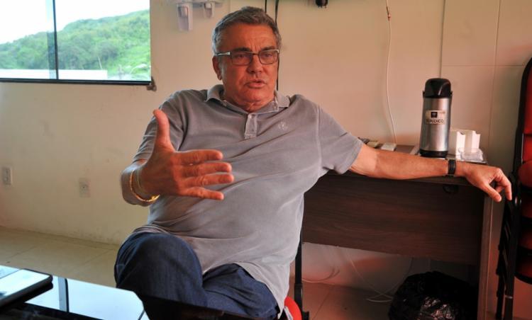 Até o momento, o presidente do Leão anunciou nove contratações para a equipe principal | Foto: Felipe Iruatã | Ag. A TARDE - Foto: Felipe Iruatã | Ag. A TARDE