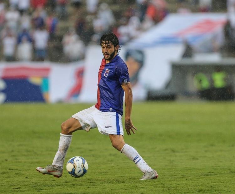 Em 2019, ele marcou três gols em 38 partidas | Geraldo Bubniak | Paraná Clube - Foto: Geraldo Bubniak | Paraná Clube