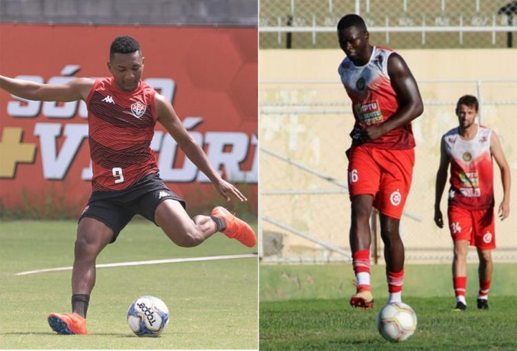 Eron marcou gol na última rodada do estadual; Pela 1ª vez Kanu será visitante no Barradão - Foto: Letícia Martins   EC Vitória e Moysés Suzart   Juazeirense