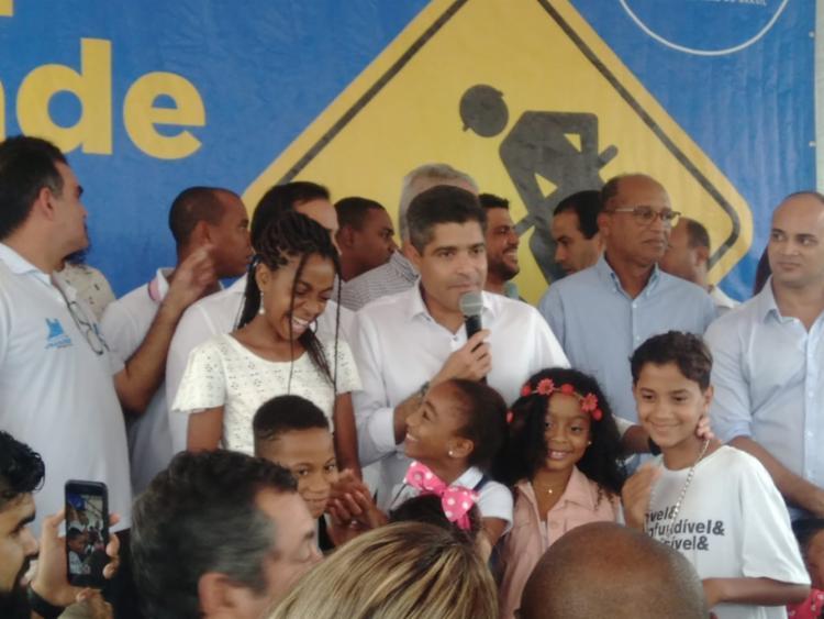 Cmei atenderá mais de mil estudantes do grupo 2 ao 5 | Foto: Shagaly Ferreira | Ag. A TARDE - Foto: Shagaly Ferreira | Ag. A TARDE