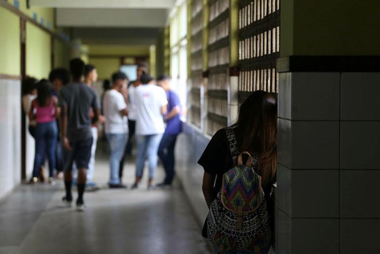 Ao todo, 176 estudantes que frequentaram o Colégio Estadual Odorico Tavares, em 2019, precisam ser transferidos para outras instituições próximas | Foto: Joá Souza | Ag. A TARDE - Foto: Joá Souza | Ag. A TARDE