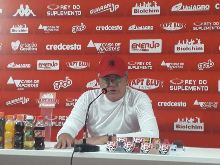 Paulo Carneiro revelou que o time do Vitória para a temporada está 99% fechado | Foto: Rafael Teles | Ag. A TARDE - Foto: Rafael Teles | Ag. A TARDE