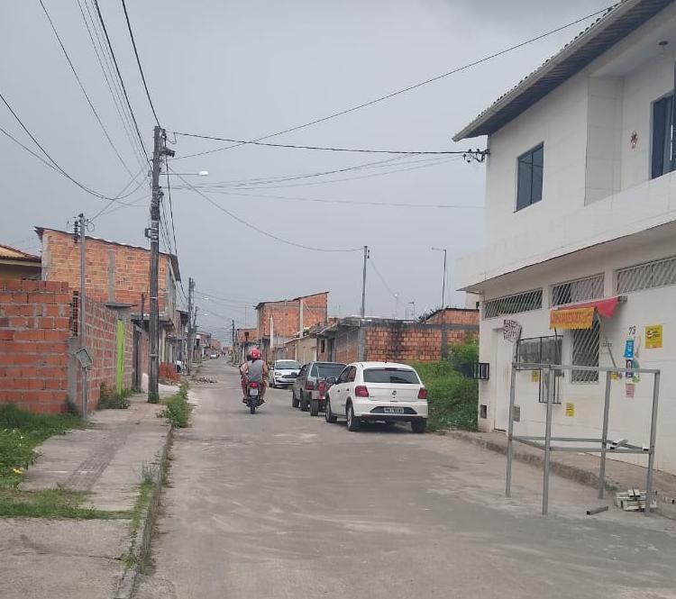 Vítima morava na rua Castelo Branco Foto: Nicolas Melo | Ag. A TARDE