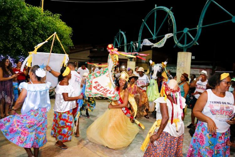 O Terno de Reis Estrela Dalva é uma das atrações da manifestação cultural. - Foto: Divulgação
