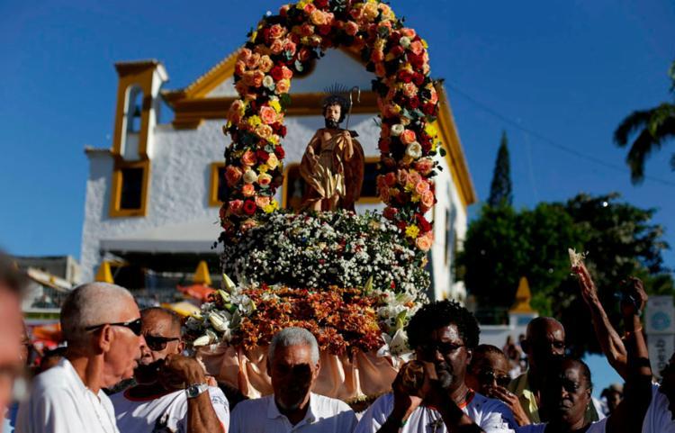Festa de São Lázaro vai alterar o trânsito no bairro da Federação | Foto: Raul Spinassé | Ag. A TARDE - Foto: Raul Spinassé | Ag. A TARDE