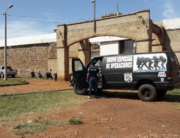 Medida foi tomada após fuga da Penitenciária de Pedro Juan Caballero | Foto: AFP - Foto: AFP