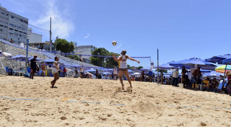 Cerca de 150 jogadores de modalidade, de 14 estados do Brasil, vão participar dos jogos | Foto: Shirley Stolze | Ag. A TARDE | 21.12.2019 - Foto: Shirley Stolze | Ag. A TARDE | 21.12.2019