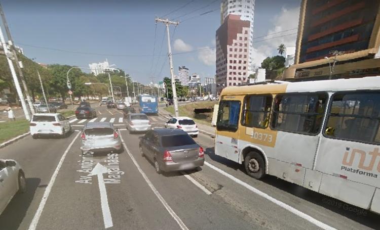 Transalvador aguarda a manutenção do carro | Foto: Reprodução | Google Street View - Foto: Reprodução | Google Street View