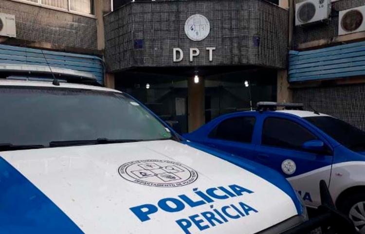 Corpo foi encaminhado para o DPT | Foto: Acorda Cidade - Foto: Acorda Cidade