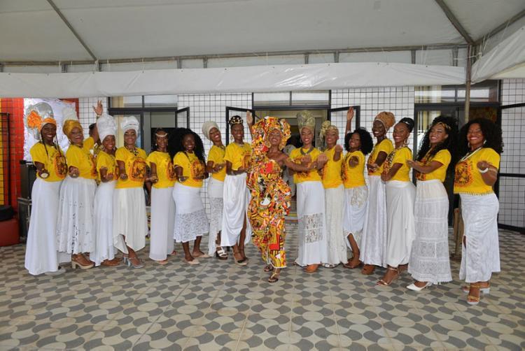 Noite da Beleza Negra elege a Deusa do Ébano, que acompanhará o bloco durante o ano, principalmente no Carnaval | Foto: Shirley Stolze | Ag A Tarde - Foto: Shirley Stolze | Ag A Tarde