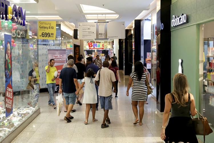 Dados do IBGE demonstram uma tendência de melhora evidente nas vendas do comércio | Foto: Uendel Galter | Ag. A TARDE - Foto: Uendel Galter | Ag. A TARDE